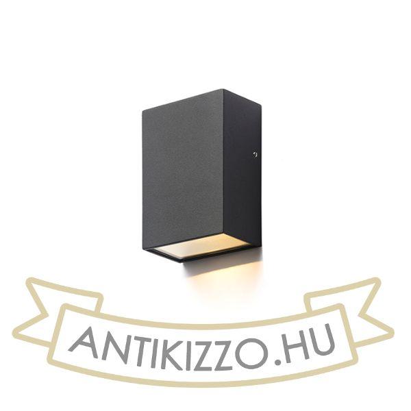 Kép PEKKO fali lámpa fekete  230V LED 3W 67° IP54  3000K