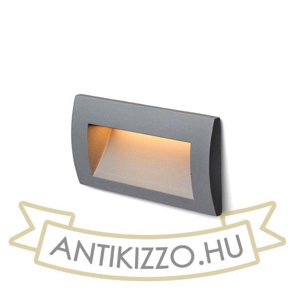 Kép GORDIQ L süllyesztett lámpa anrtracitszürke  230V LED 3W IP65  3000K