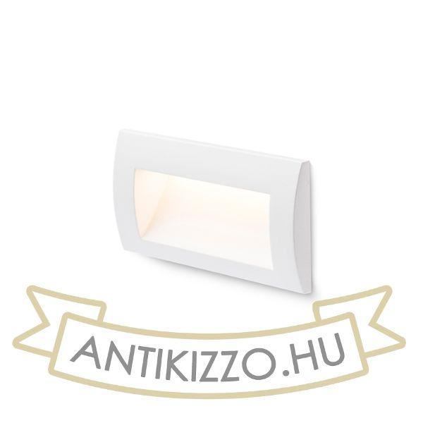 Kép GORDIQ L süllyesztett lámpa fehér  230V LED 3W IP65  3000K