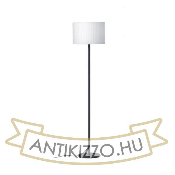 Kép BOSANNA 150 állólámpa anrtracitszürke szatén PE 230V E27 25W IP65