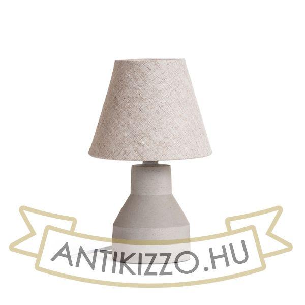 Kép HEIDI asztali lámpa  természetes/beton 230V E14 12W