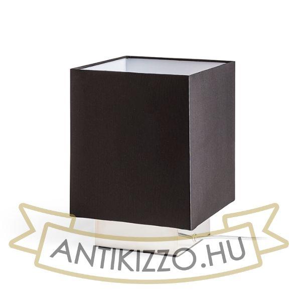 Kép MONACO asztali lámpa fekete króm 230V E27 28W