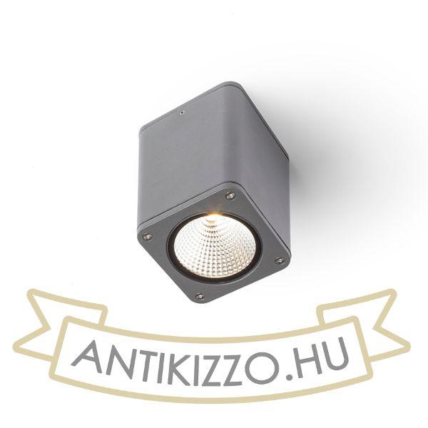 Kép MIZZI SQ mennyezeti lámpa anrtracitszürke  230V LED 12W 46° IP54  3000K