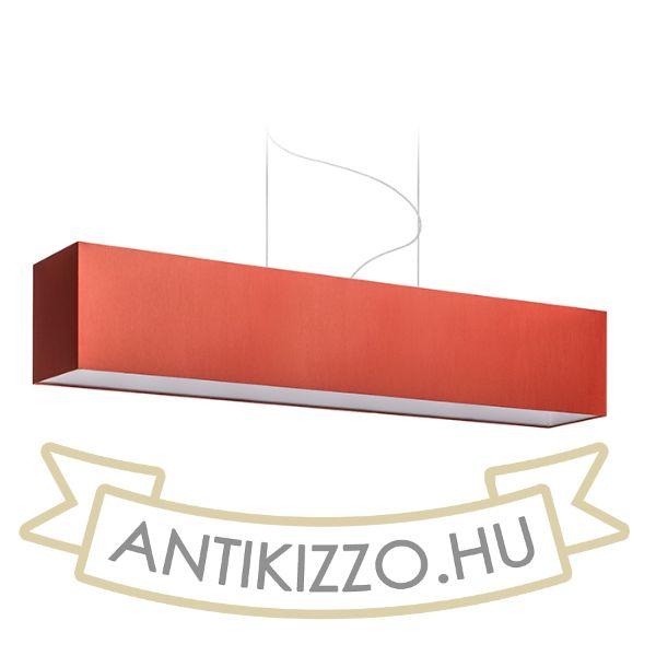 Kép LOPE 120/22 lámpabúra  Chintz terrakotta/fehér PVC  max. 23W