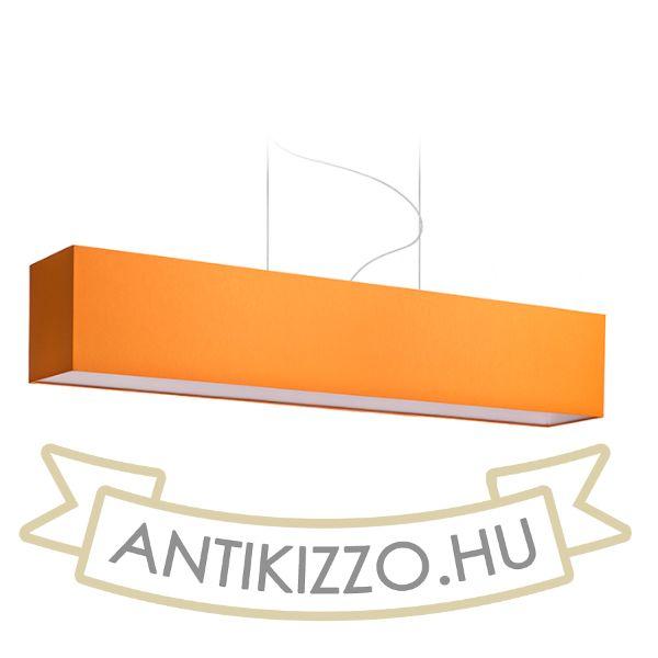Kép LOPE 120/22 lámpabúra  Chintz narancssárga/fehér PVC  max. 23W