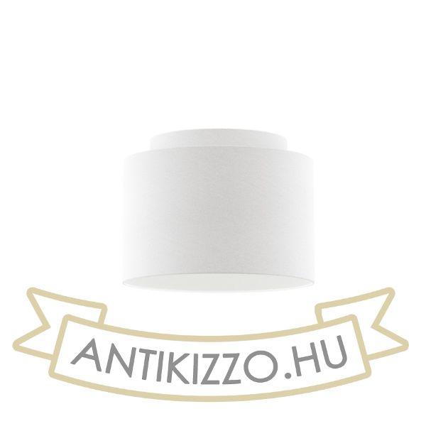 Kép DOUBLE 40/30 lámpabúra  Polycotton fehér/fehér PVC  max. 23W
