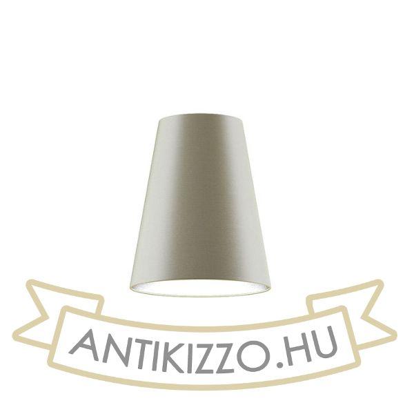 Kép CONNY 25/30 asztali lámpabúra  Monaco galamb szürke/ezüst PVC  max. 23W