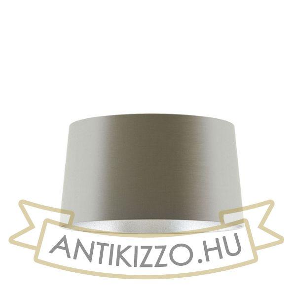 Kép ASPRO 55/30 lámpabúra  Monaco galamb szürke/ezüst PVC  max. 23W