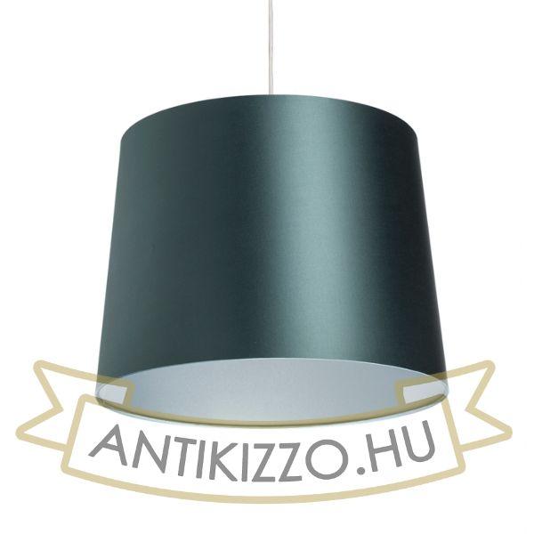 Kép ASPRO 40/30 lámpabúra  Monaco benzin kék/ezüst PVC  max. 23W