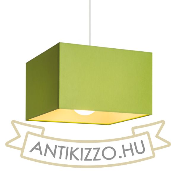 Kép TEMPO 30/19 lámpabúra  Chintz lime/fehér PVC  max. 23W