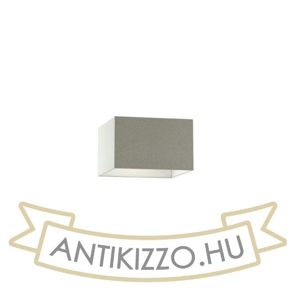 Kép TEMPO 30/19 lámpabúra  Chintz világosszürke/fehér PVC  max. 23W