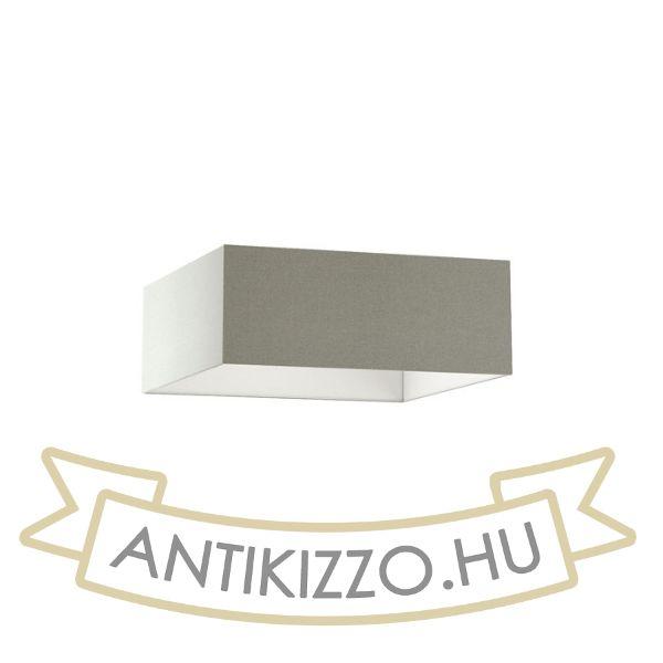 Kép TEMPO 50/19 lámpabúra  Chintz világosszürke/fehér PVC  max. 23W