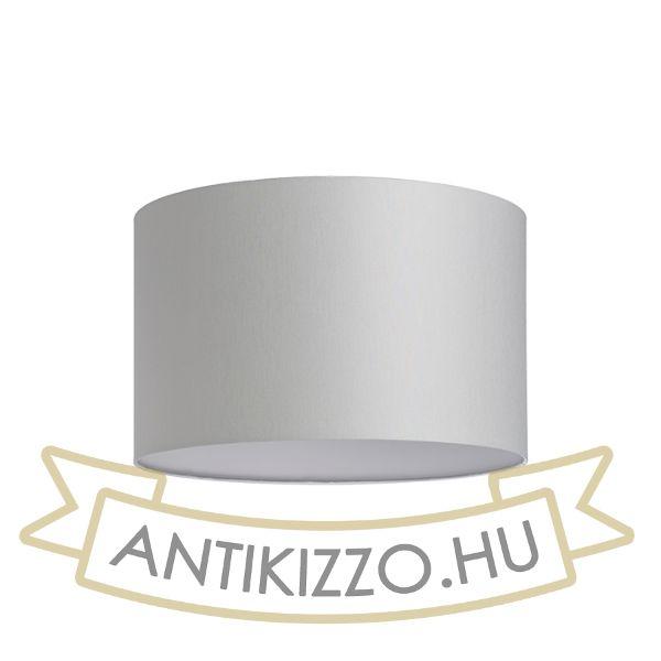 Kép RON 40/25 lámpabúra  Chintz világosszürke/fehér PVC  max. 23W