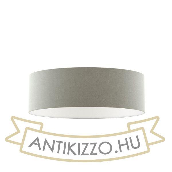 Kép RON 60/19 lámpabúra  Chintz világosszürke/fehér PVC  max. 23W