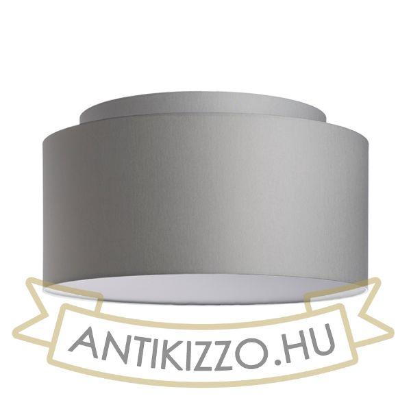 Kép DOUBLE 55/30 lámpabúra  Chintz világosszürke/fehér PVC  max. 23W