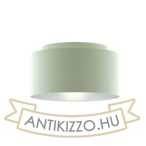 Kép DOUBLE 55/30 lámpabúra  Chintz menta/ezüst fólia  max. 23W