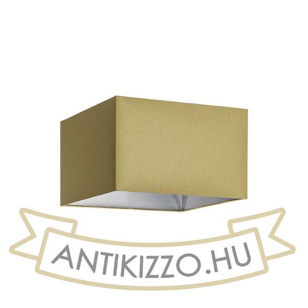 Kép TEMPO 30/19 lámpabúra  Chintz  oliva/ezüst fólia  max. 23W