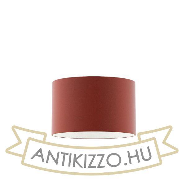 Kép RON 40/25 lámpabúra  Chintz terrakotta/fehér PVC  max. 23W