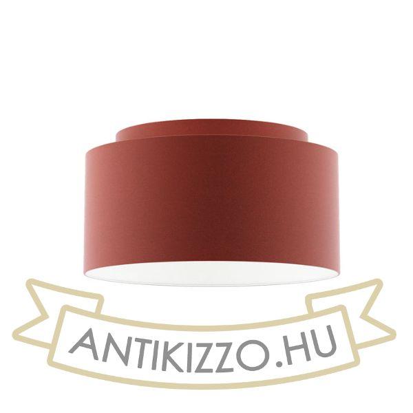 Kép DOUBLE 55/30 lámpabúra  Chintz terrakotta/fehér PVC  max. 23W
