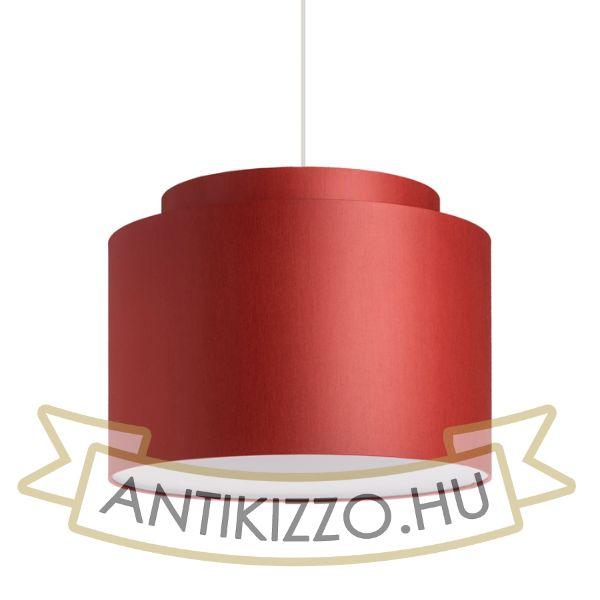 Kép DOUBLE 40/30 lámpabúra  Chintz terrakotta/fehér PVC  max. 23W