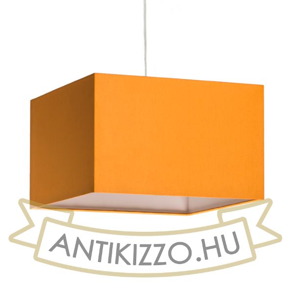 Kép TEMPO 30/19 lámpabúra  Chintz narancssárga/fehér PVC  max. 23W