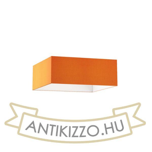 Kép TEMPO 50/19 lámpabúra  Chintz narancssárga/fehér PVC  max. 23W