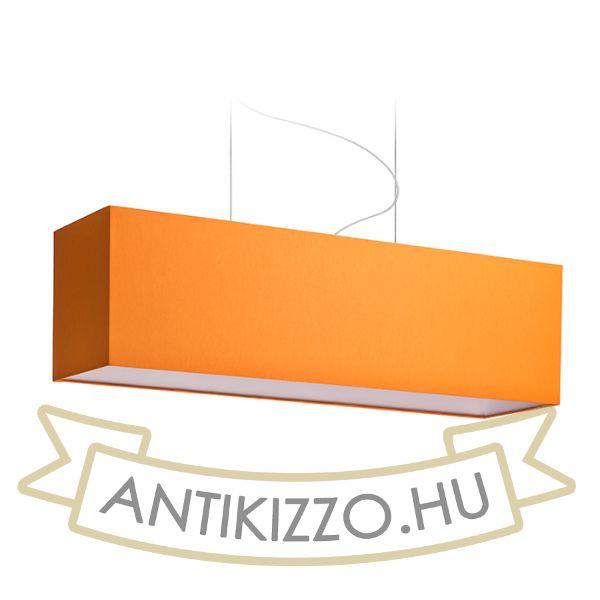 Kép LOPE 80/23 lámpabúra  Chintz narancssárga/fehér PVC  max. 23W