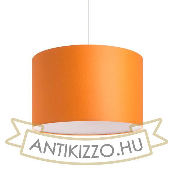 Kép RON 40/25 lámpabúra  Chintz narancssárga/fehér PVC  max. 23W