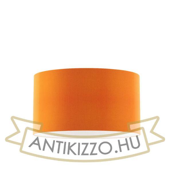 Kép RON 55/30 lámpabúra  Chintz narancssárga/fehér PVC  max. 23W