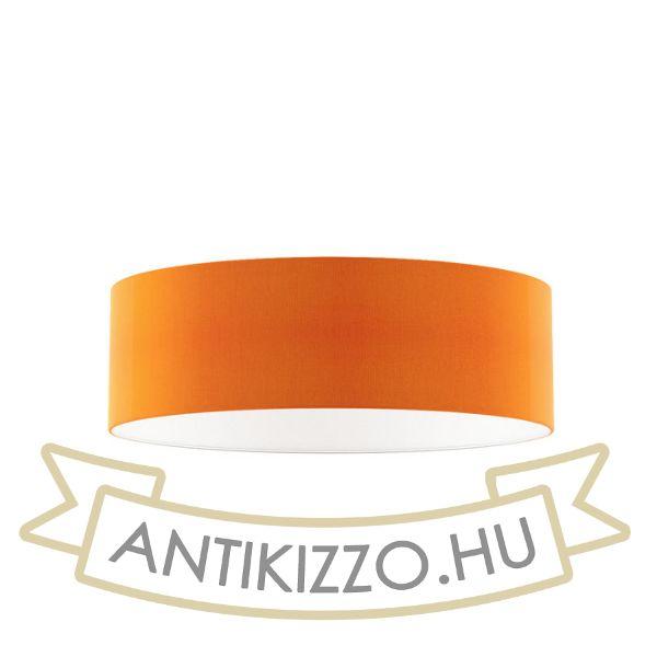 Kép RON 60/19 lámpabúra  Chintz narancssárga/fehér PVC  max. 23W