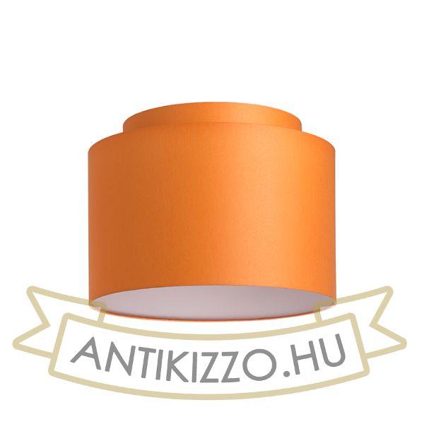 Kép DOUBLE 40/30 lámpabúra  Chintz narancssárga/fehér PVC  max. 23W