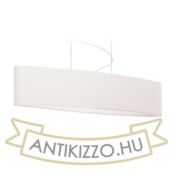 Kép CASUAL 120/25 lámpabúra  Polycotton fehér/fehér PVC  max. 23W
