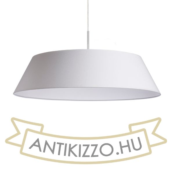 Kép KARO 55/15 lámpabúra  Polycotton fehér/fehér PVC  max. 23W