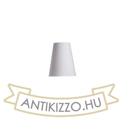 Kép CONNY 25/30 asztali lámpabúra  Polycotton fehér/fehér PVC  max. 23W