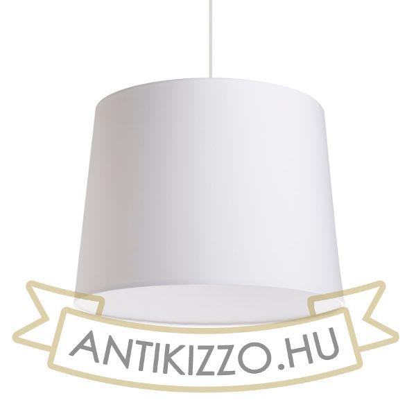 Kép ASPRO 40/30 lámpabúra  Polycotton fehér/fehér PVC  max. 23W
