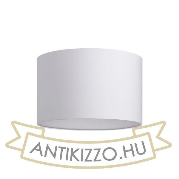 Kép RON 40/25 lámpabúra  Polycotton fehér/fehér PVC  max. 23W