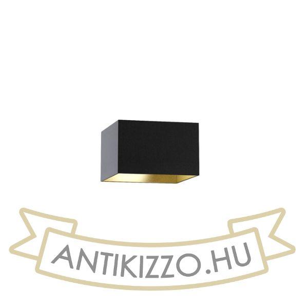 Kép TEMPO 30/19 lámpabúra  Polycotton fekete/arany fólia  max. 23W