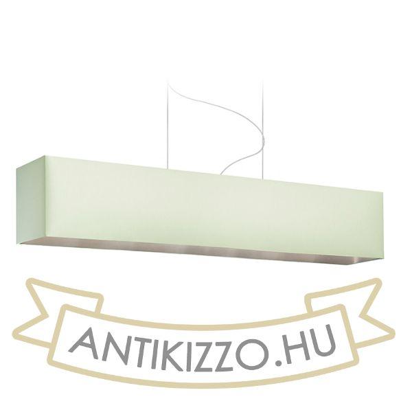 Kép LOPE 120/22 lámpabúra  Chintz menta/ezüst fólia  max. 23W