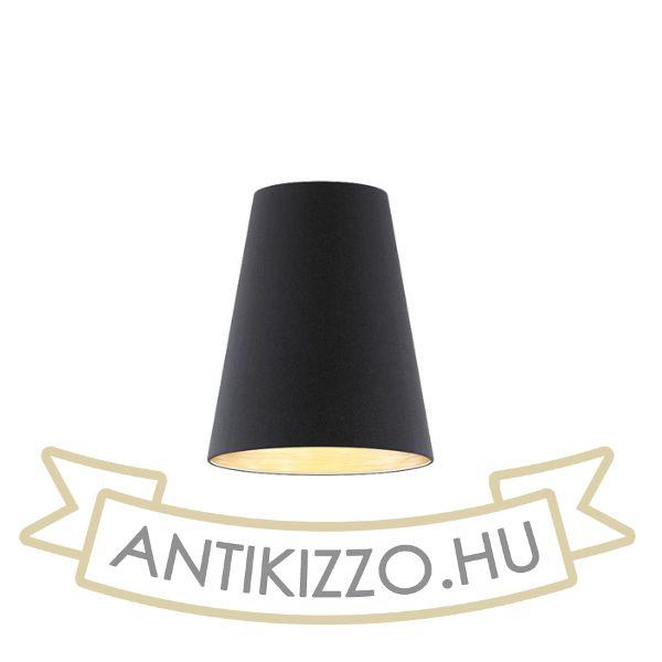 Kép CONNY 25/30 asztali lámpabúra  Polycotton fekete/réz fólia  max. 23W