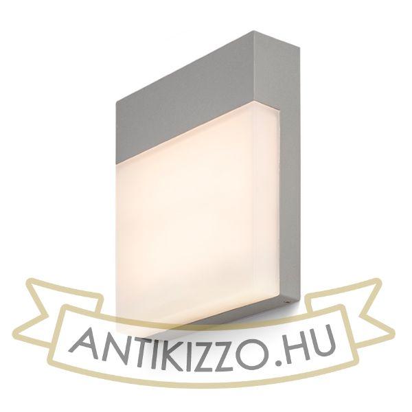 Kép VERIA fali lámpa ezüstszürke  230V LED 6W 116° IP54  3000K