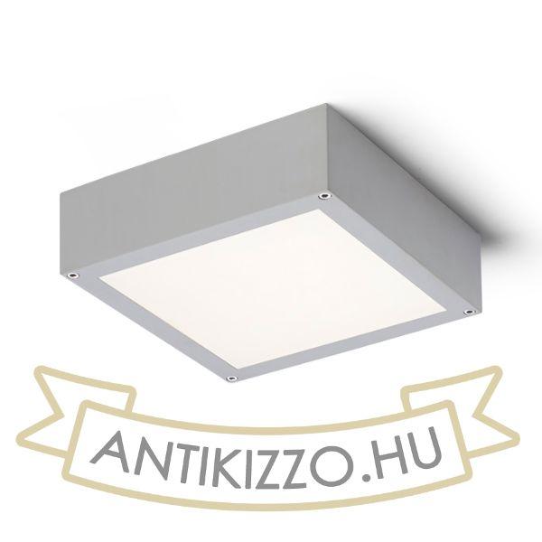 Kép SCOTT mennyezeti lámpa ezüstszürke  230V LED 9.8W IP54  3000K