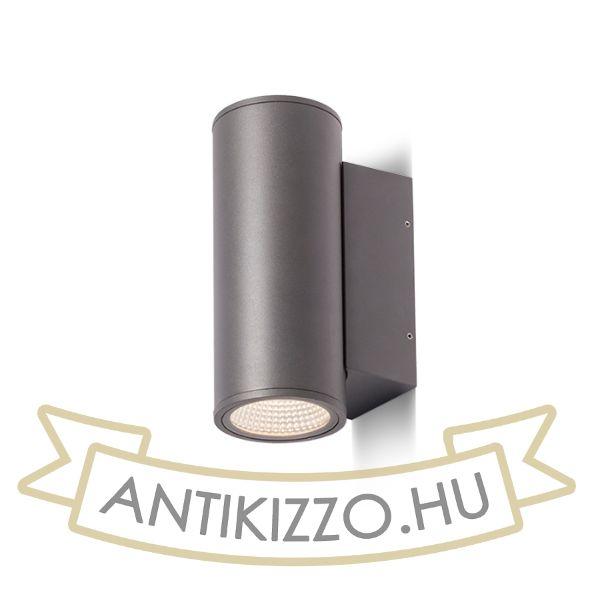 Kép MIZZI II  anrtracitszürke  230V LED 2x12W 44° IP65  3000K