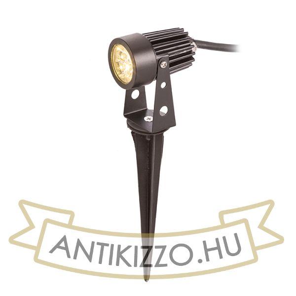 Kép GUN leszúrható spot lámpa fekete  230V LED 3x1W 30° IP65  3000K
