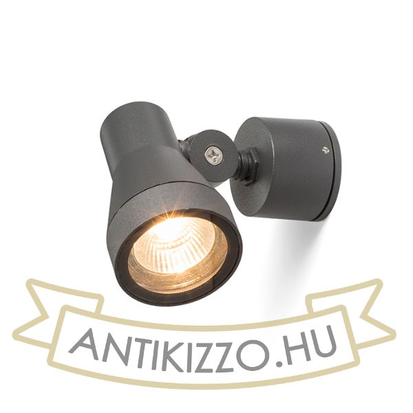 Kép DIREZZA fali lámpa anrtracitszürke  230V GU10 35W IP54
