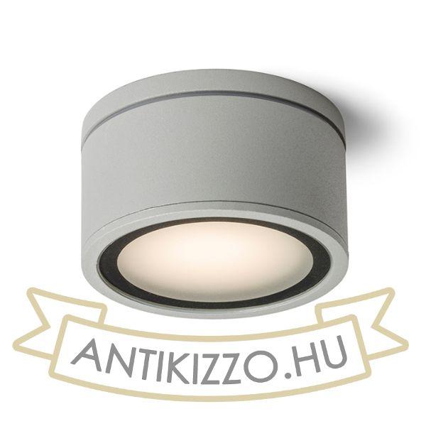 Kép MERIDO mennyezeti lámpa ezüstszürke  230V GX53 11W IP54