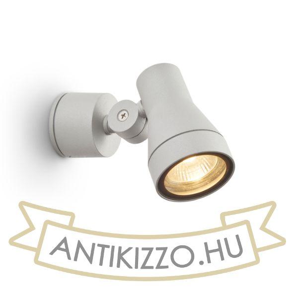Kép DIREZZA fali lámpa ezüstszürke  230V GU10 35W IP54