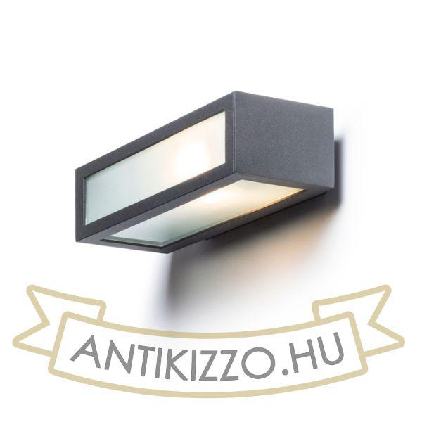 Kép GINO fali lámpa anrtracitszürke  230V E27 18W IP44