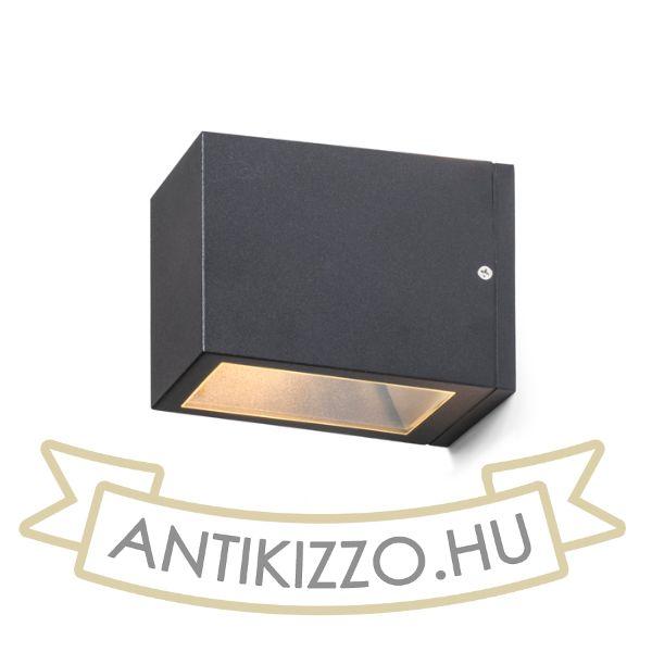 Kép CABOX II fali lámpa anrtracitszürke  230V E27 70W IP54