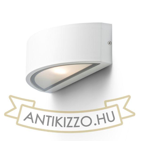Kép LESA fali lámpa fehér  230V E27 26W IP54