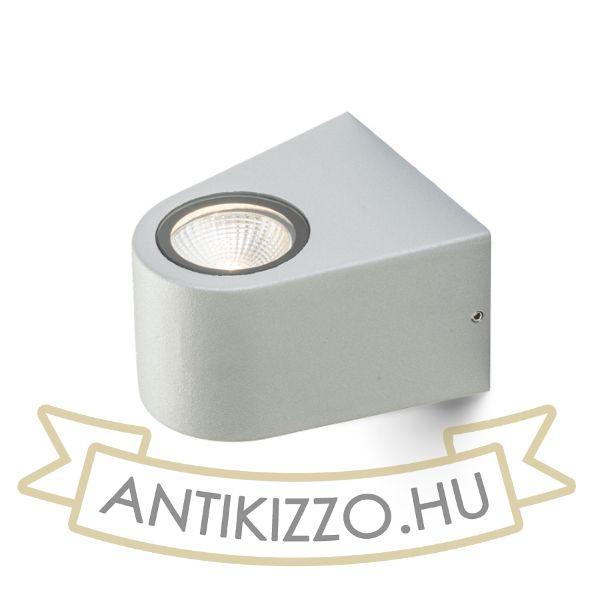 Kép SIX fali lámpa ezüstszürke  230V/700mA LED 3W 60° IP54  3000K
